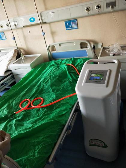 安尔森床单位臭氧消毒机进入上海市第一人民医院